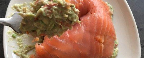 Dôme de saumon